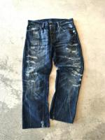 """Ralph Lauren"" Rotten Denim Pants"
