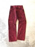 """Wrangler"" Dyed Design Denim Pants"