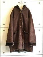 Hooded Mouton Coat